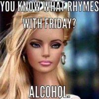 Barbie Loves Fridays at this Columbia Martini Bar
